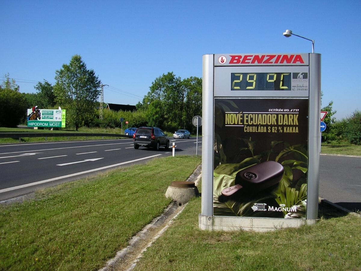 MAGNUM - Most / Benzina