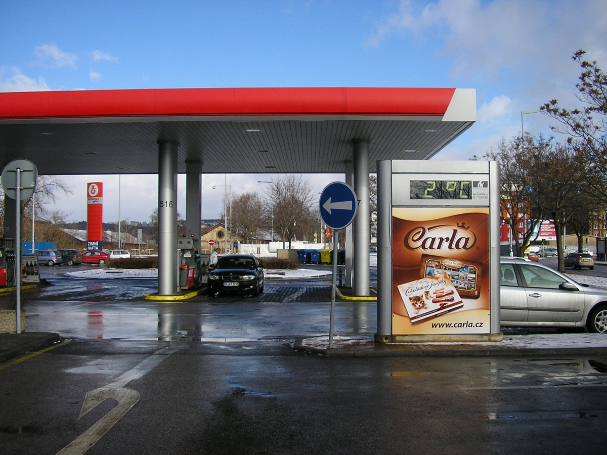 CARLA - Praha Argentinská ul. Benzina