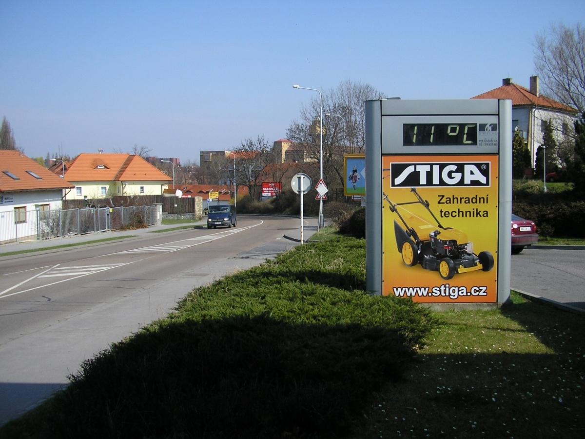 STIGA - Praha Drnovská ul. / Pap Oil