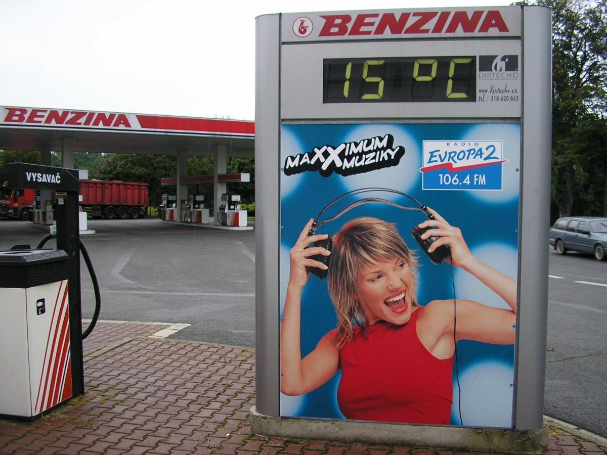 EVROPA 2 - Hradec Králové / Benzina