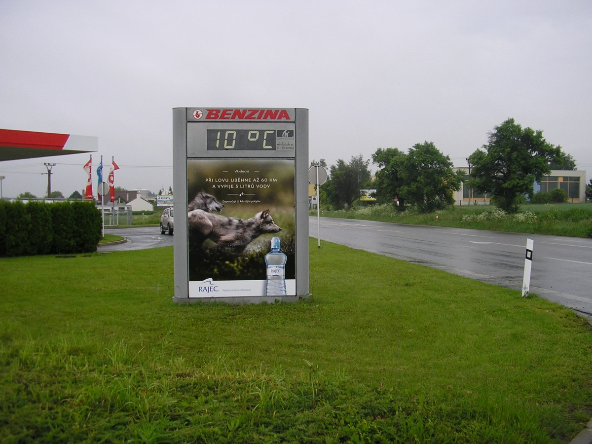 RAJEC - Havířov / Benzina