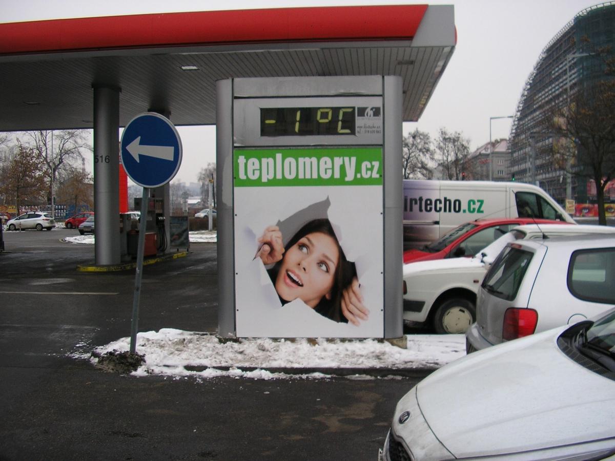 TEPLOMERY.cz - Praha Argentinská / Benzina