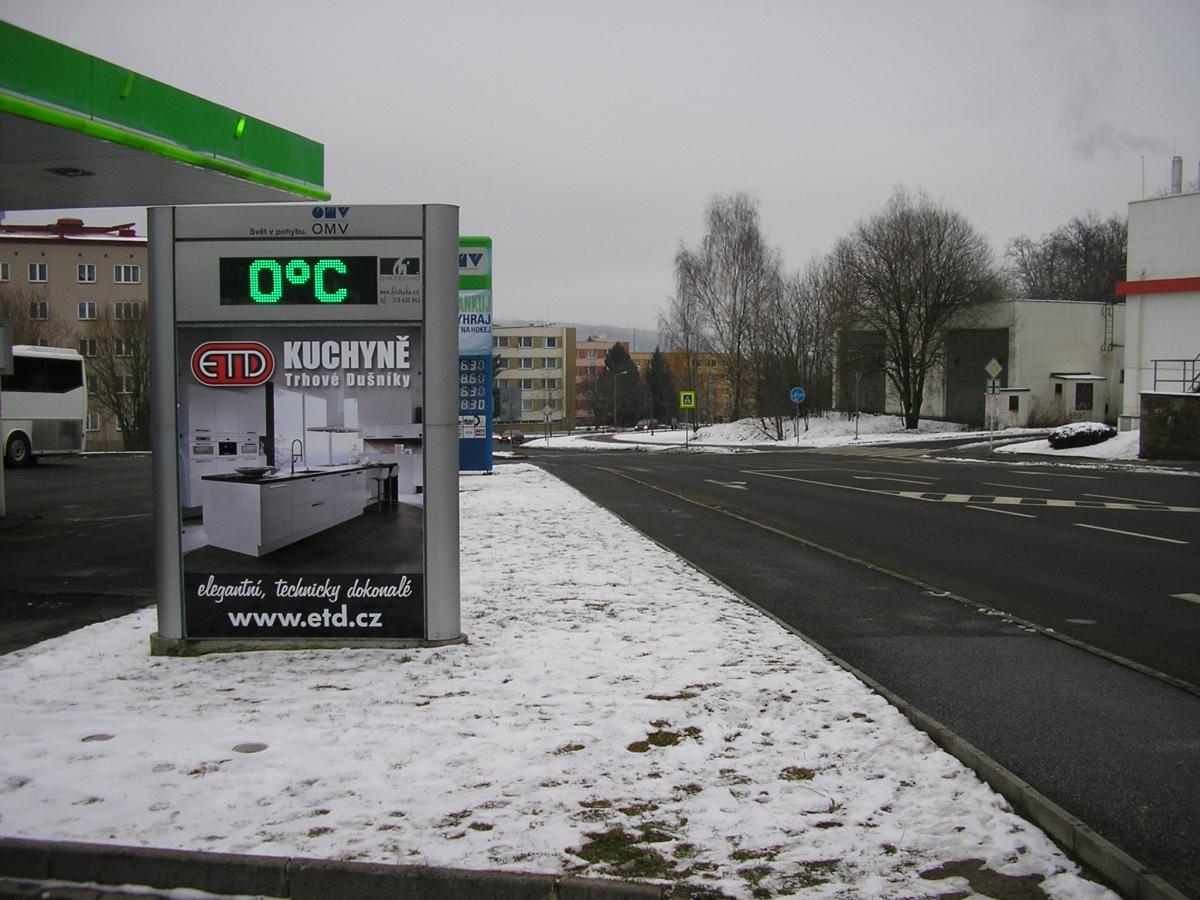 ETD - Příbram Podbrdská ul. / OMV
