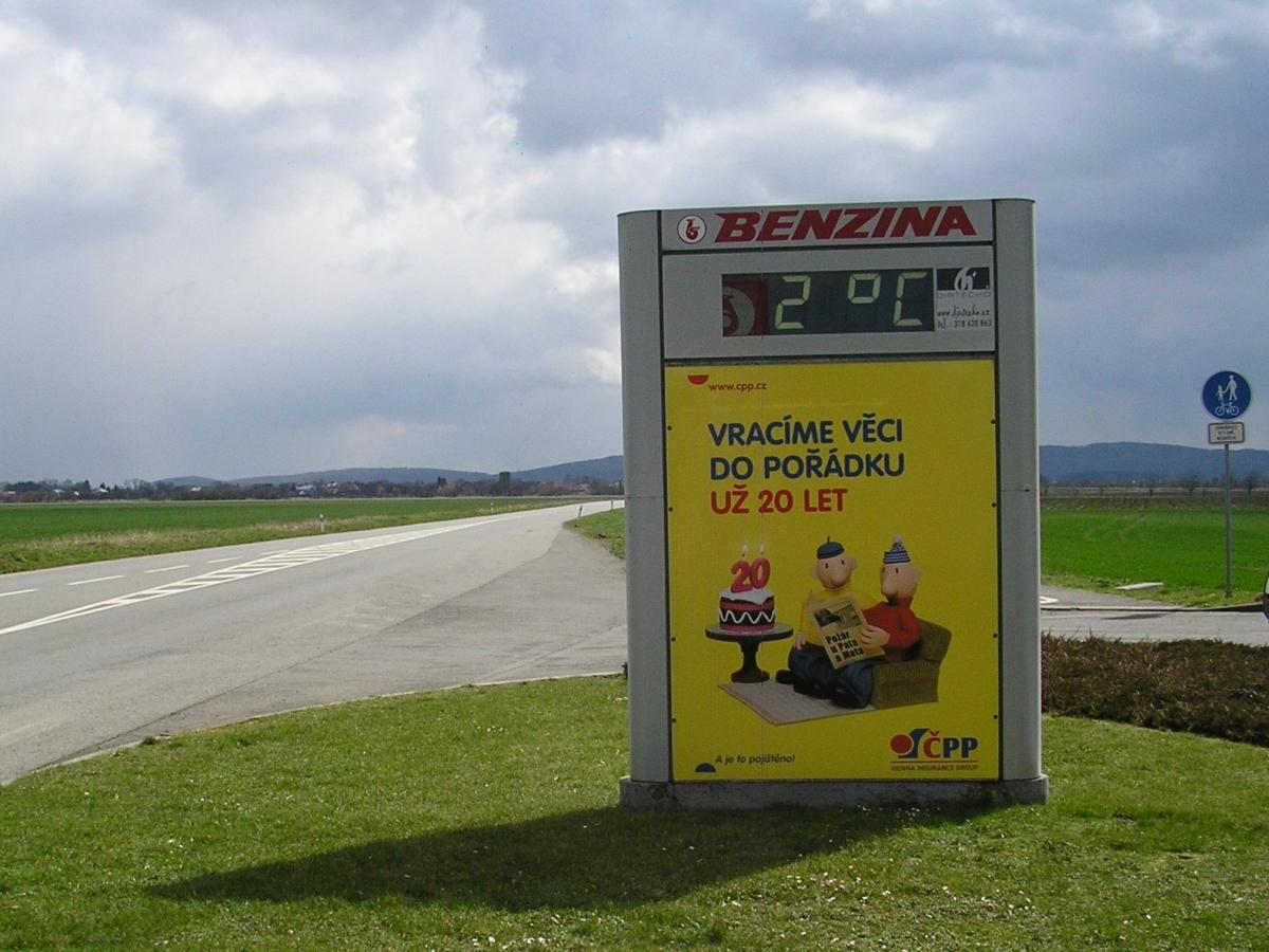 OOH kampaň pro ČPP, duben 2015