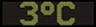 Reklamní plochy - Teploměry - aktuální teplota je 3 stupňů celsia