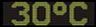 Reklamní plochy - Teploměry - aktuální teplota je 30 stupňů celsia