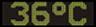 Reklamní plochy - Teploměry - aktuální teplota je 36 stupňů celsia