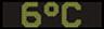 Reklamní plochy - Teploměry - aktuální teplota je 6 stupňů celsia